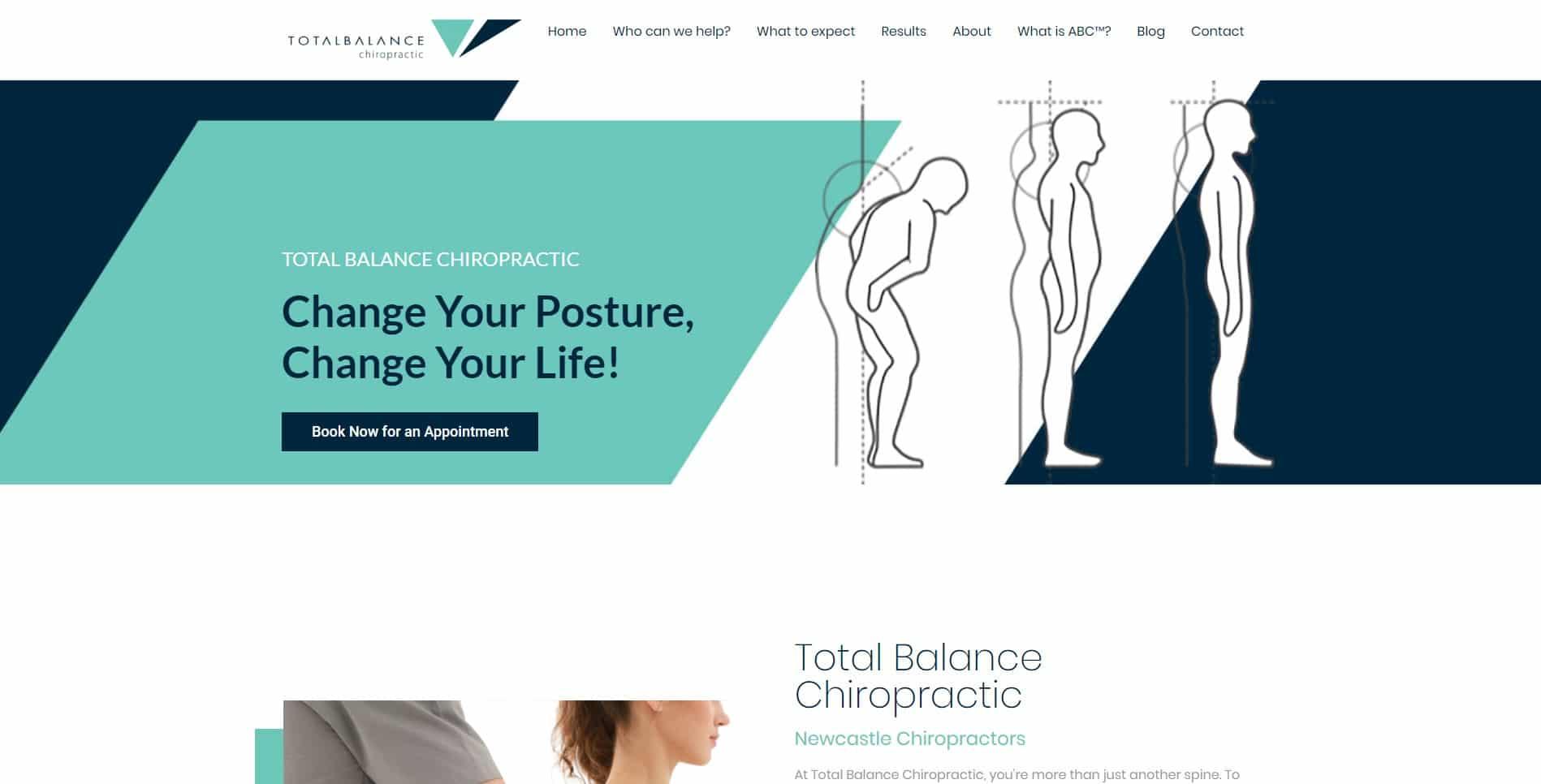 Total Balance Chiropractic Website Design & SEO Northern Rivers NSW - JezNorthWeb